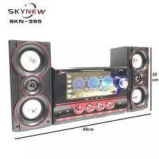 Hàng nhập khẩu) Dàn âm thanh tại gia, tại nhà, loa vi tính hát karaoke có  kết nối Bluetooth USB SKYNEW SKN395