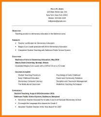 Student Teaching On Resume Extraordinary 48 Teaching Resume Template Zasvobodu