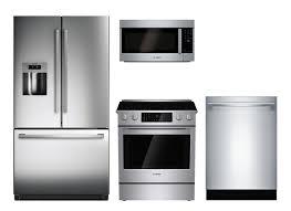 lowes appliance financing. Beautiful Appliance Bosch Stainless Steel Suite  Refrigerator Range Microwave Dishwasher With Lowes Appliance Financing I