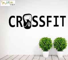 Crossfit Quotes Awesome Gymnasium Crossfit Fitness Motivation Quotes Wall Vinyl Decals