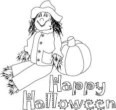 Halloween Colouring Pages For Kids Free Printables