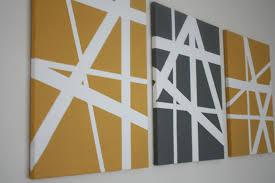 easy canvas art ideas