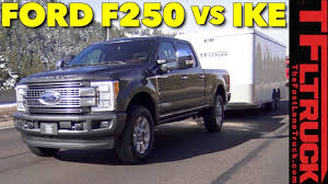 2019 F 250 Towing Capacity Chart 2018 Ford F 250 Diesel Takes On The Worlds Toughest Towing Test