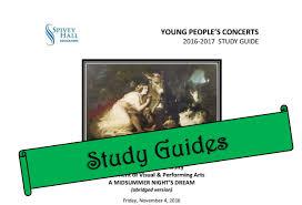 Study Guides Spivey Hall Clayton State University