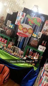 Space jam party | Space jam theme, Baby boy 1st birthday party, Basketball  theme birthday