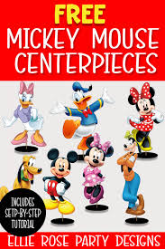 how to make free mickey mouse character