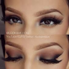 natural simplistic eye makeup great tip for this look is to use tape while applying liner and eyeshadow that will give you the crisp line gorgeous