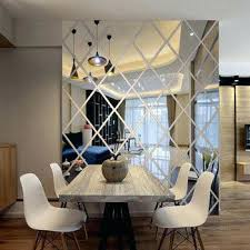 acrylic wall art diamonds triangles wall art acrylic mirror wall sticker house decoration wall decals