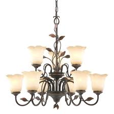 allen roth chandelier light dark oil rubbed bronze mediterranean candle