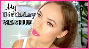 my birthday makeup tutorial 2016 tanya burr