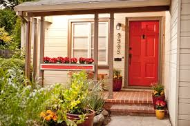 front door curb appeal8 Budget Curb Appeal Projects  HGTV