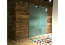 luxury sliding glass barn door with for the office style exterior on exposed track uk bathroom