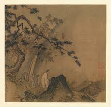 landscape painting in chinese art essay heilbrunn timeline of   scholar viewing a waterfall