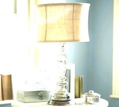 burlap drum lamp shade burlap drum lamp shade white drum lamp shade large white linen drum