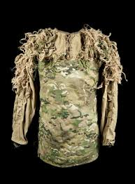 christopher horton s ghillie suit coat