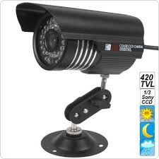Wholesale Waterproof Colorful IR 420 TVL Camera with <b>Sony 1/3</b> ...