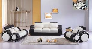 Modern Living Rooms Furniture Black And White Modern Living Room Furniture