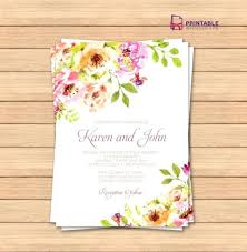 Wedding Invitation Card Template Word Cards Templates Free Printable Cool Free Invitation Card Templates For Word