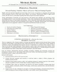 Training Manager Resume The Best Resume