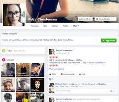 Petra Christensen – Falska profiler på Facebook