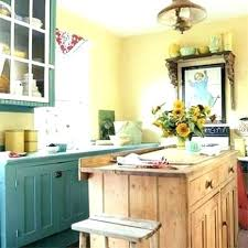 yellow country kitchens. Blue And Yellow Kitchen Country Kitchens  Cabinets .