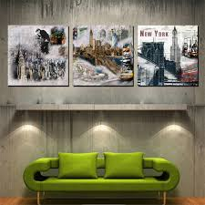 aliexpress com buy 3 panels wall art home decor wall picture