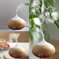 oil aroma diffuser led essential ultrasonic air humidifier purifier aromatherapy