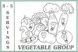 Healthy Food Coloring Healthy Food Coloring Pages Pleasant Food