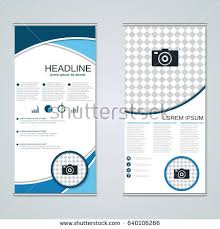 two sided flyer template free double sided tri fold brochure template two fold stock images