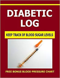 Diabetic Log Keep Track Of Blood Sugar Levels With This