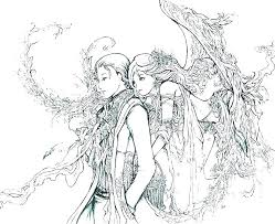 Final Fantasy Coloring Pages Fantasy Coloring Pages Print Final