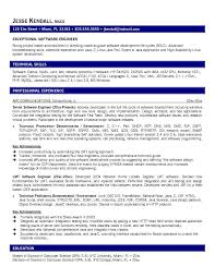 Technical Resume Objective Examples software resume objective Mayotteoccasionsco 91