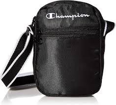 Amazon.com: Champion unisex adult Cross Body Bag, Black, One Size US:  Clothing