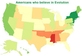 the theory of evolution the french revolution modern american the enlightenment obviously sp throughout early white america but it didn t sp evenly it seems as is typical of humans we picked and chose the