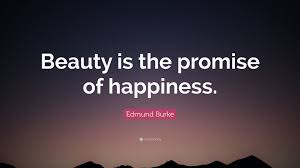 "Beauty Is The Promise Of Happiness Quote Best Of Edmund Burke Quote ""Beauty Is The Promise Of Happiness"" 24"