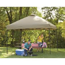 144 Square Feet Guide Gear Deluxe Straight Leg Pop Up Canopy 12 X 12 676351