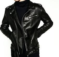 mens faux leather biker jacket faux leather biker jacket armani exchange mens faux leather slim fit