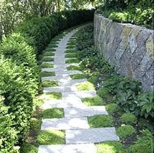 garden pathway. Stone Path Ideas Garden Outdoor And Gardening Beautiful Pathways Design Pathway