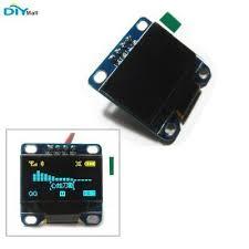 """<b>DIYmall</b> 0.96"""" Yellow& Blue 128X64 <b>OLED I2C</b> IIC Serial LCD LED ..."""