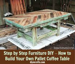 Build your own wood furniture Comfortable We Just Love These build Your Own Type Posts This One Will Show You How You Can Build Your Very Own Coffee Table Using Pallet Wood Diy Crafts 26 Magnificent Diy Coffee Tables To Beautify Your Home Diy Crafts