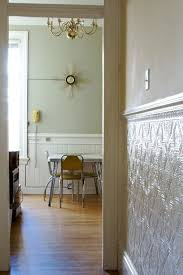 sagging tin ceiling tiles bathroom: love the wainscoting color amp tin ceiling tile on wall this would be perfect in the kitchen on the blank wall go above the mop board and then put a