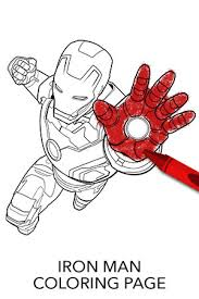 Small Picture Avengers Iron Man Coloring Page Disney Movies