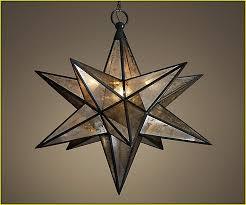 small moravian star pendant light