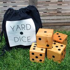 Wooden Lawn Games diy with style Summer Fun with DIY Wooden Yard Dice Blue i 30