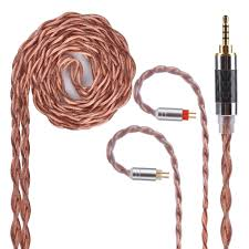 Yinyoo <b>4</b> Core Alloy With Pure <b>Copper</b> Upgraded <b>Cable</b> 2.5/3.5/4.4 ...