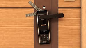 The most security door lock in the world YouTube