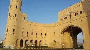 متى تم بناء قلعة نزوى