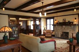 ... Charming Image Of Home Interior Design And Decoration With Various  Stone Fireplace : Comely Picture Of ...