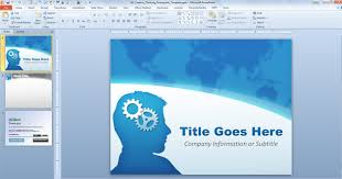 Theme Ppt 2010 Free Download Free Creative Thinking Powerpoint Template