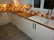 matt cream shaker kitchen unit cupboard doors fits howdens magnet mfi b q wickes